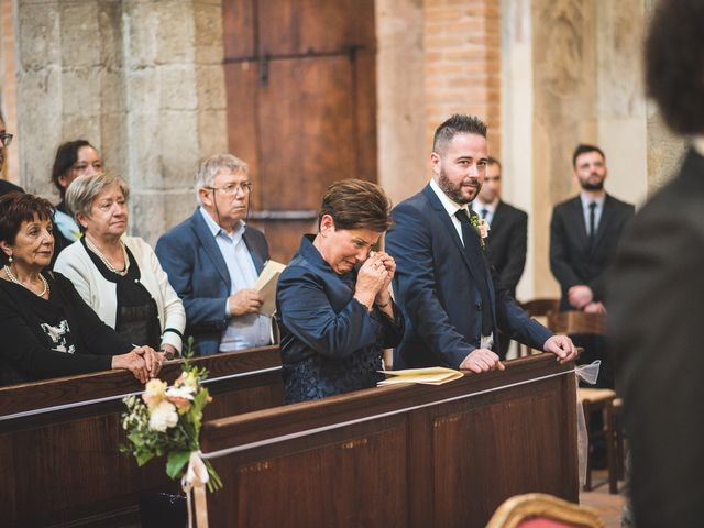 Il matrimonio di Andrea e Stefania a Castell'Arquato, Piacenza 47