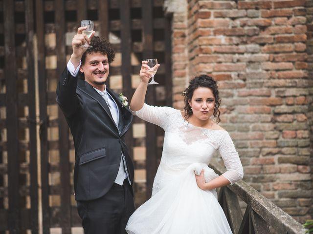 Il matrimonio di Andrea e Stefania a Castell'Arquato, Piacenza 82