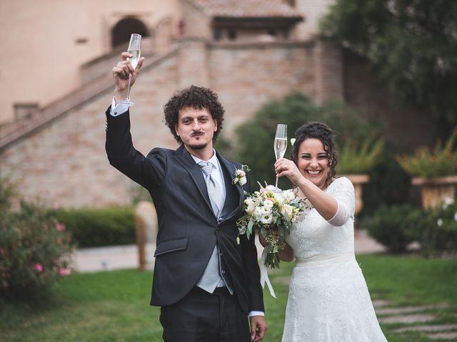 Il matrimonio di Andrea e Stefania a Castell'Arquato, Piacenza 91