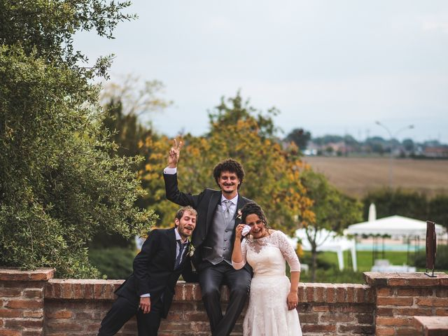 Il matrimonio di Andrea e Stefania a Castell'Arquato, Piacenza 102