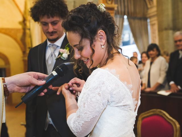 Il matrimonio di Andrea e Stefania a Castell'Arquato, Piacenza 44