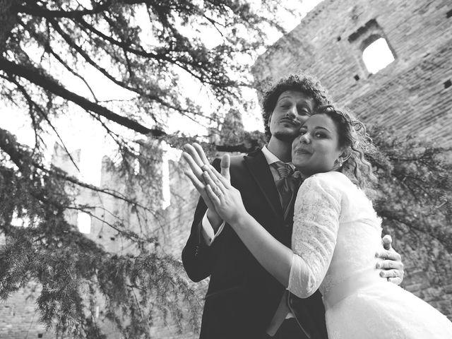 Il matrimonio di Andrea e Stefania a Castell'Arquato, Piacenza 78