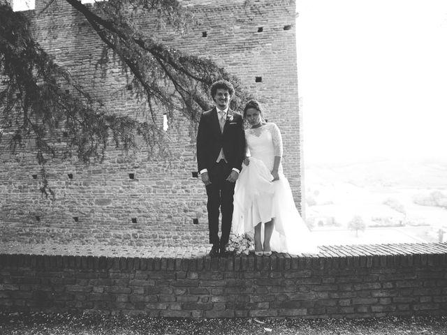 Il matrimonio di Andrea e Stefania a Castell'Arquato, Piacenza 79