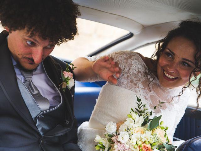 Il matrimonio di Andrea e Stefania a Castell'Arquato, Piacenza 86