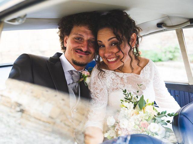 Il matrimonio di Andrea e Stefania a Castell'Arquato, Piacenza 87