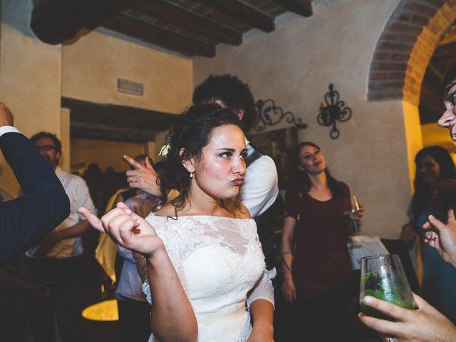 Il matrimonio di Andrea e Stefania a Castell'Arquato, Piacenza 131
