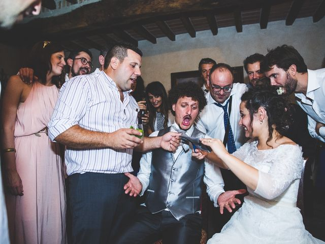 Il matrimonio di Andrea e Stefania a Castell'Arquato, Piacenza 135