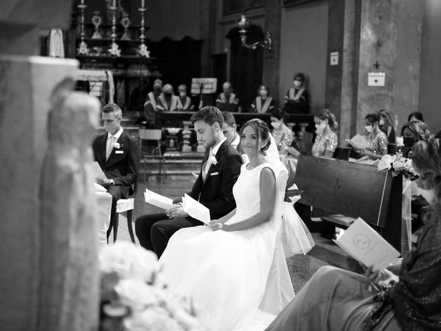 Il matrimonio di Marco e Alice a Erba, Como 26