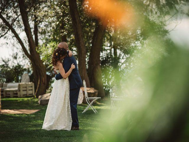 le nozze di Luciana e Jonathan
