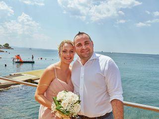 Le nozze di Kristina e Federico