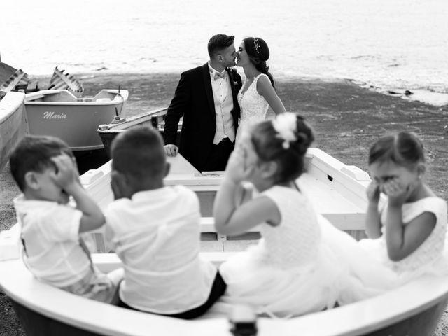 le nozze di Maria Giorgia e Mattia