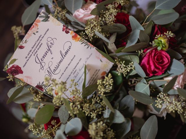 Il matrimonio di Massimiliano e Jennifer a Tavoleto, Pesaro - Urbino 1