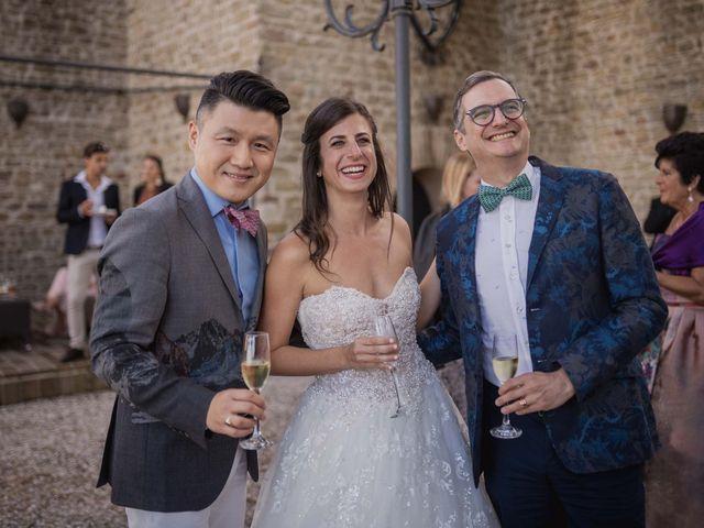 Il matrimonio di Massimiliano e Jennifer a Tavoleto, Pesaro - Urbino 33