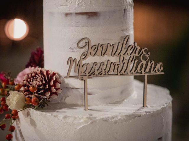 Il matrimonio di Massimiliano e Jennifer a Tavoleto, Pesaro - Urbino 61