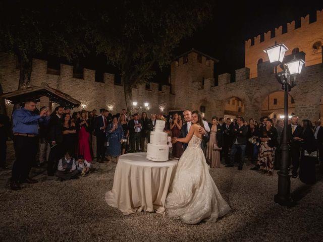 Il matrimonio di Massimiliano e Jennifer a Tavoleto, Pesaro - Urbino 64