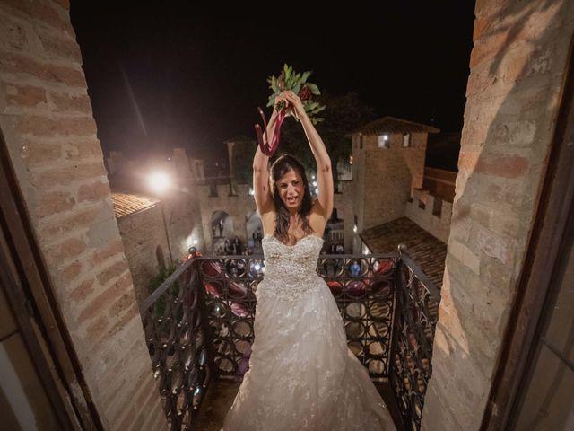 Il matrimonio di Massimiliano e Jennifer a Tavoleto, Pesaro - Urbino 66