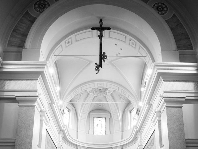 Il matrimonio di Valerio e Elisabetta a Castelletto sopra Ticino, Novara 24