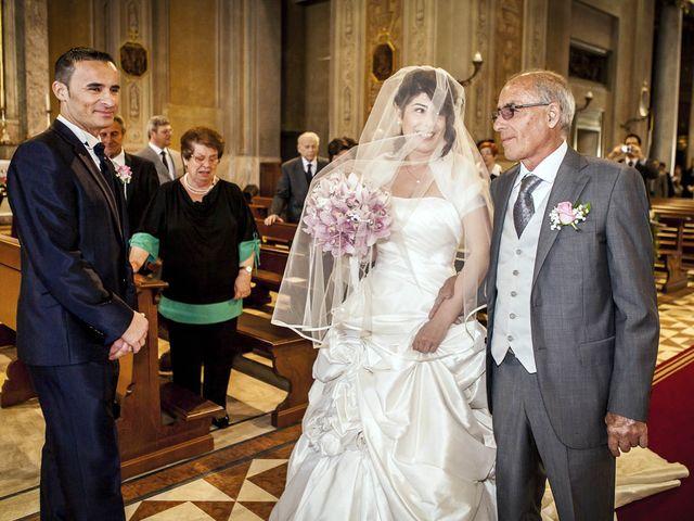 Il matrimonio di Andrea e Monica a Inzago, Milano 35
