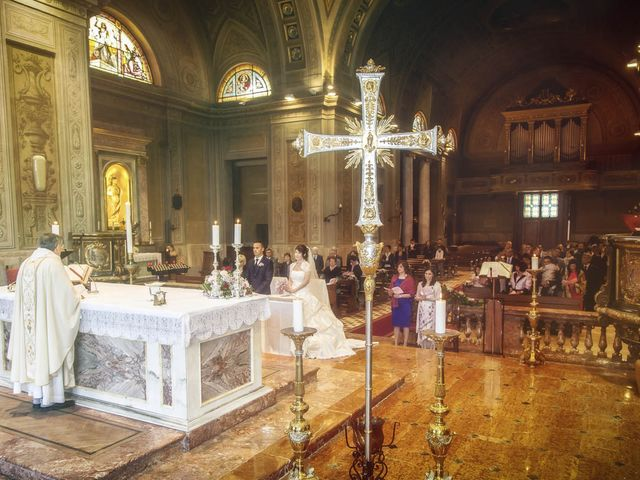 Il matrimonio di Andrea e Monica a Inzago, Milano 40
