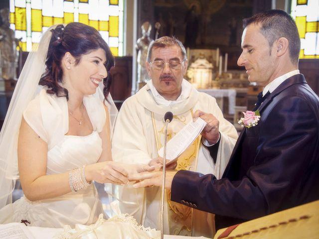Il matrimonio di Andrea e Monica a Inzago, Milano 45