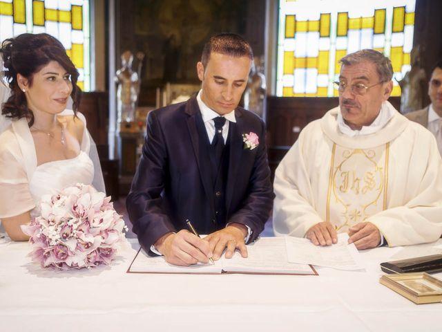 Il matrimonio di Andrea e Monica a Inzago, Milano 52