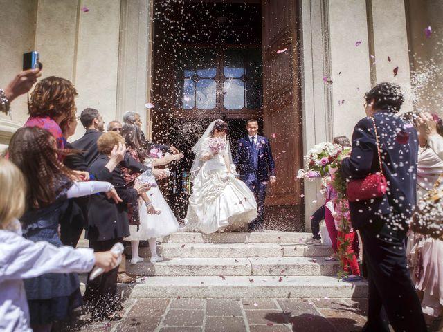 Il matrimonio di Andrea e Monica a Inzago, Milano 55