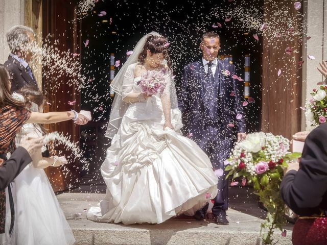 Il matrimonio di Andrea e Monica a Inzago, Milano 56