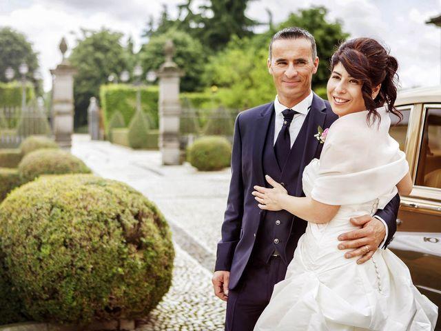 Il matrimonio di Andrea e Monica a Inzago, Milano 65