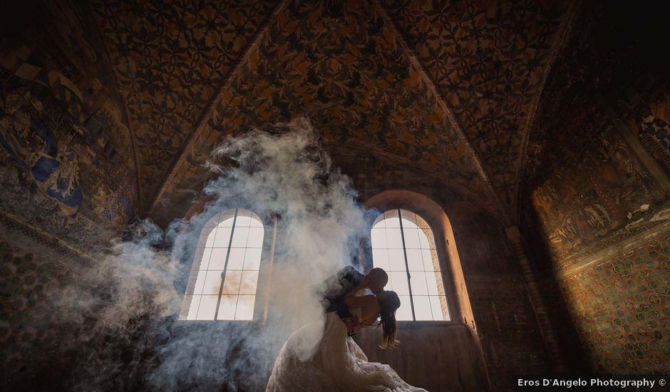 Il matrimonio di Massimiliano e Jennifer a Tavoleto, Pesaro - Urbino
