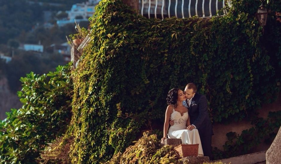 Il matrimonio di Valerio e Anna a Positano, Salerno