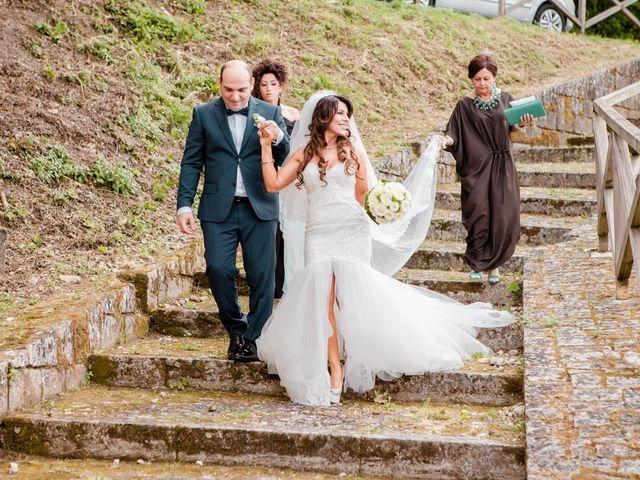 Il matrimonio di Danilo e Nancy a Serramonacesca, Pescara 13