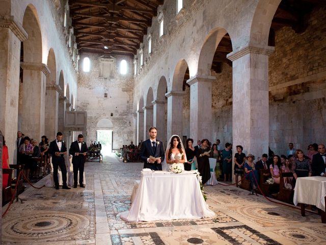 Il matrimonio di Danilo e Nancy a Serramonacesca, Pescara 20