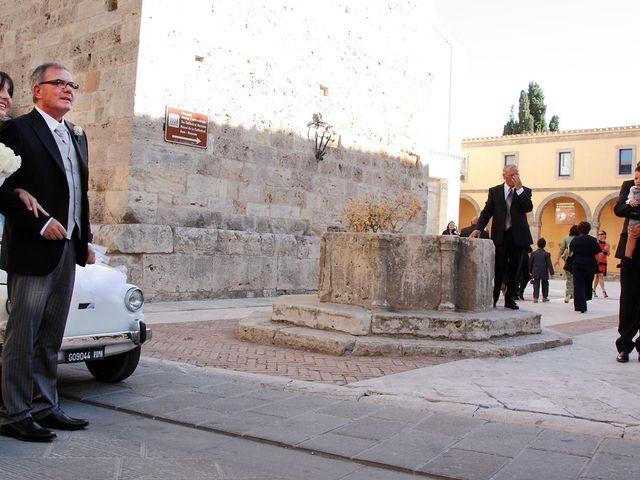 Il matrimonio di Rocco e Zaira a Chiusi, Siena 8