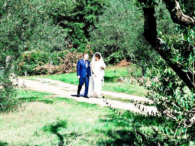 Il matrimonio di mauro e claudia a Manziana, Roma 1