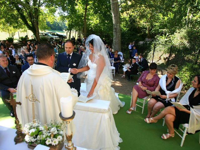 Il matrimonio di mauro e claudia a Manziana, Roma 36