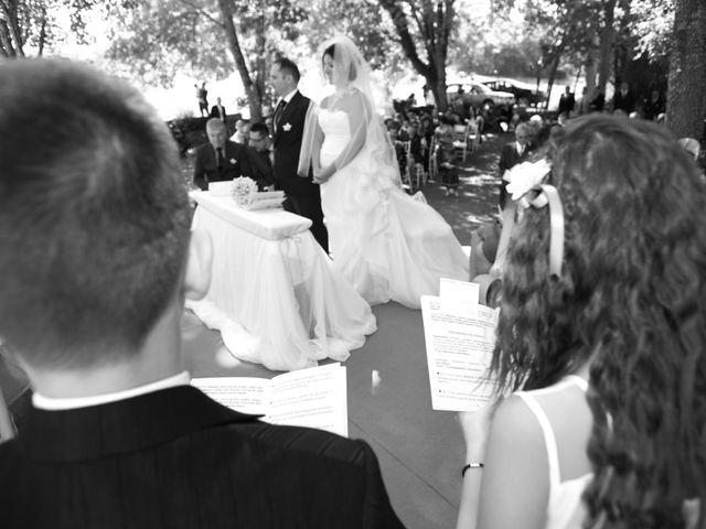 Il matrimonio di mauro e claudia a Manziana, Roma 39