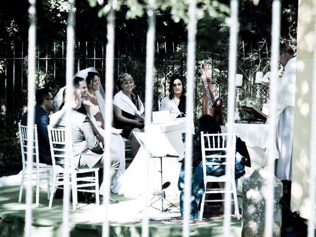 Il matrimonio di mauro e claudia a Manziana, Roma 79