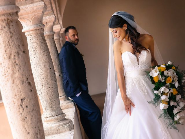 le nozze di Manuela e Demis