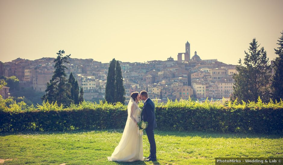 Il matrimonio di Giuseppe e Francesca a Siena, Siena