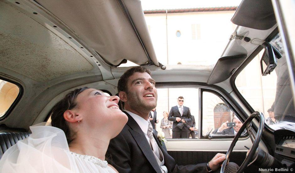 Il matrimonio di Rocco e Zaira a Chiusi, Siena