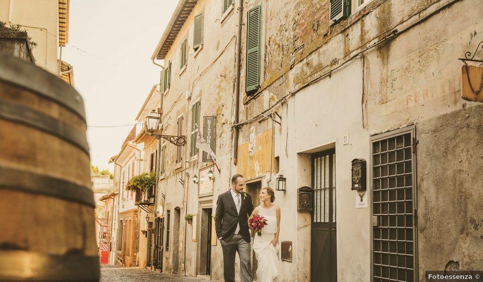 Il matrimonio di Marco e Arianna a Bracciano, Roma