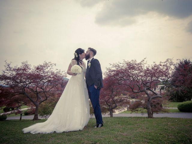 le nozze di Tatiana e Davide
