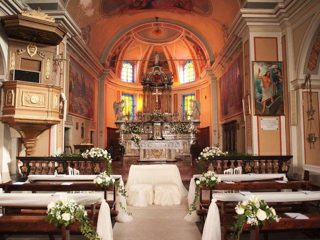 Il matrimonio di Domenico e Pamela a Valbrona, Como 9