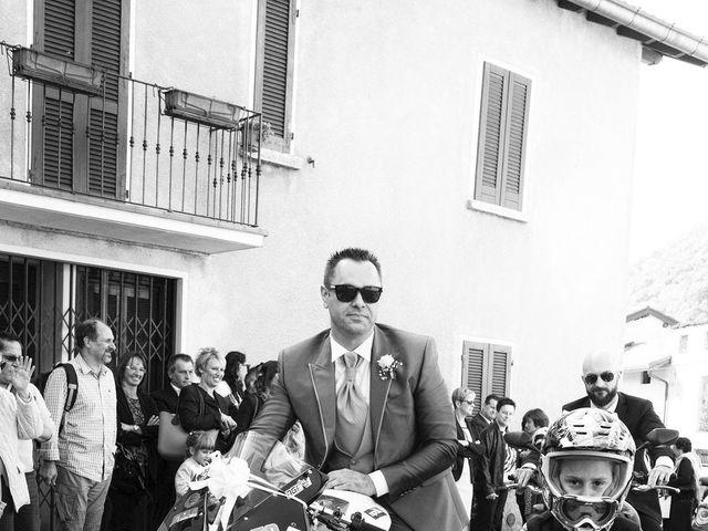 Il matrimonio di Domenico e Pamela a Valbrona, Como 10