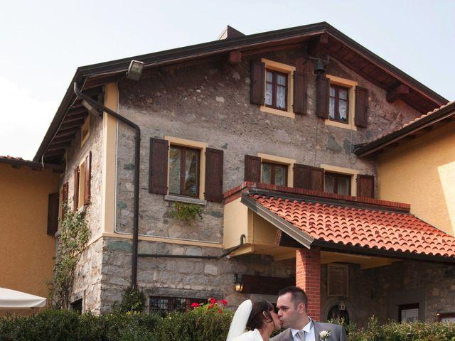 Il matrimonio di Domenico e Pamela a Valbrona, Como 14