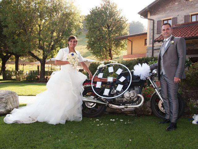 Il matrimonio di Domenico e Pamela a Valbrona, Como 15