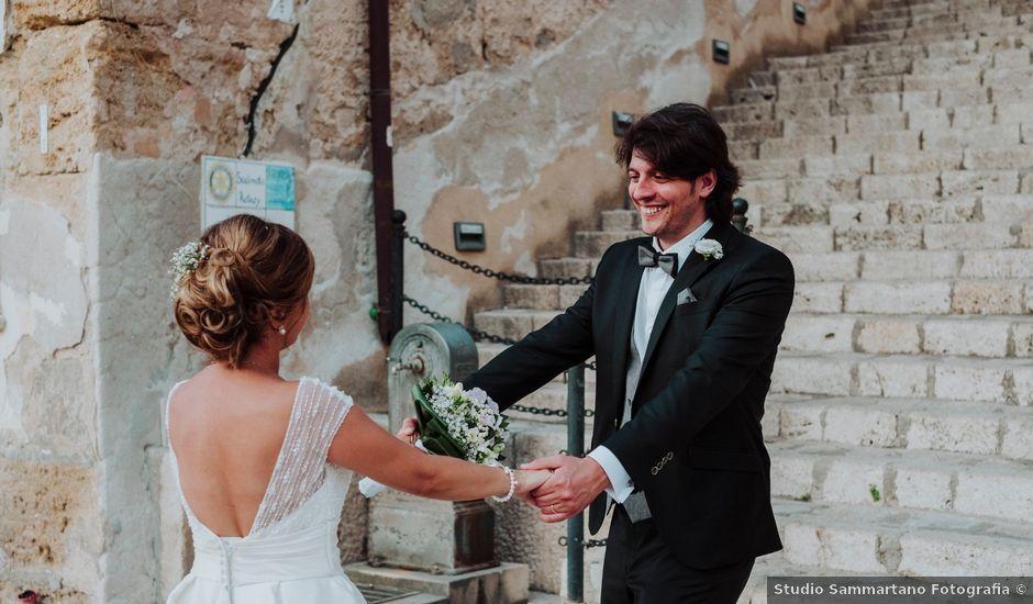 Il matrimonio di Andrea e Nina a Castellammare del Golfo, Trapani