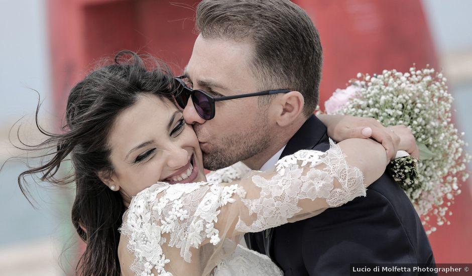 Il matrimonio di Domenico e Ester a Bisceglie, Bari