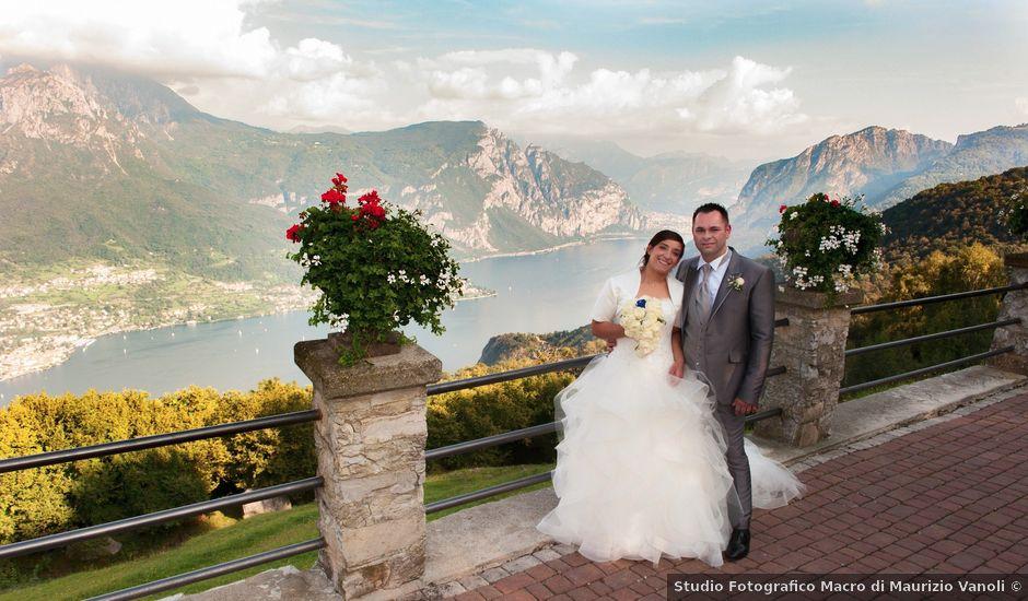 Il matrimonio di Domenico e Pamela a Valbrona, Como