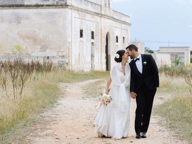 Il matrimonio di Ilario e Fiorella a San Pancrazio Salentino, Brindisi 43